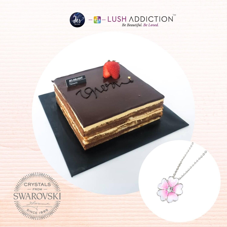 Opera Cake + Lush Primrose Necklace Bundle Deal (By: JES Delight from JB)