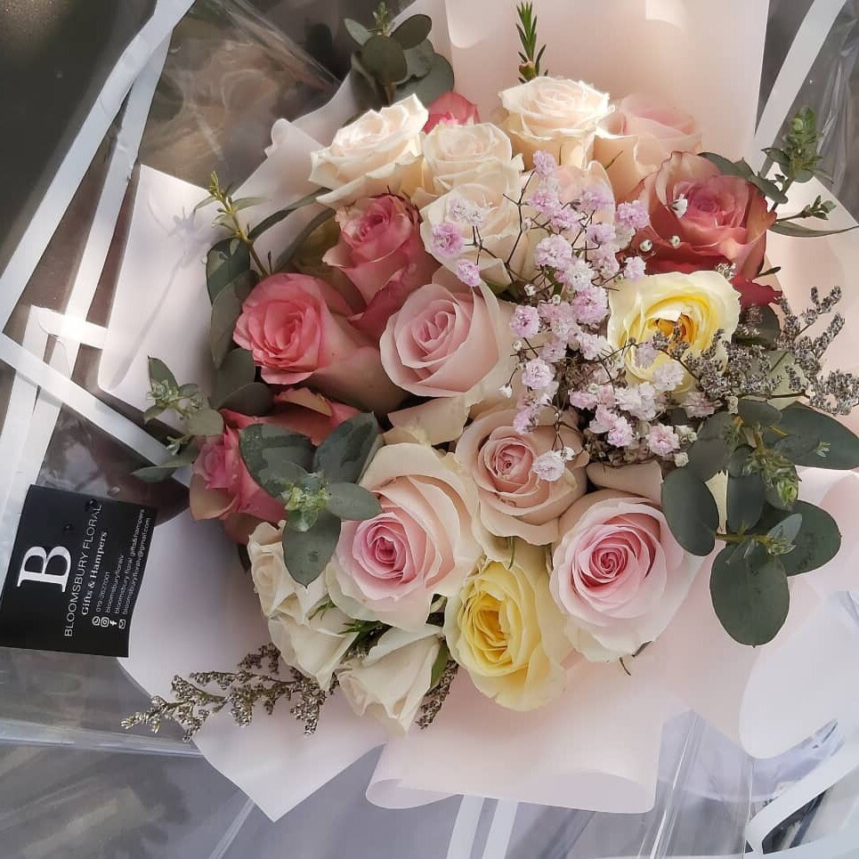 Forever Love Flower Bouquet  (By: Bloomsbury from Puchong)