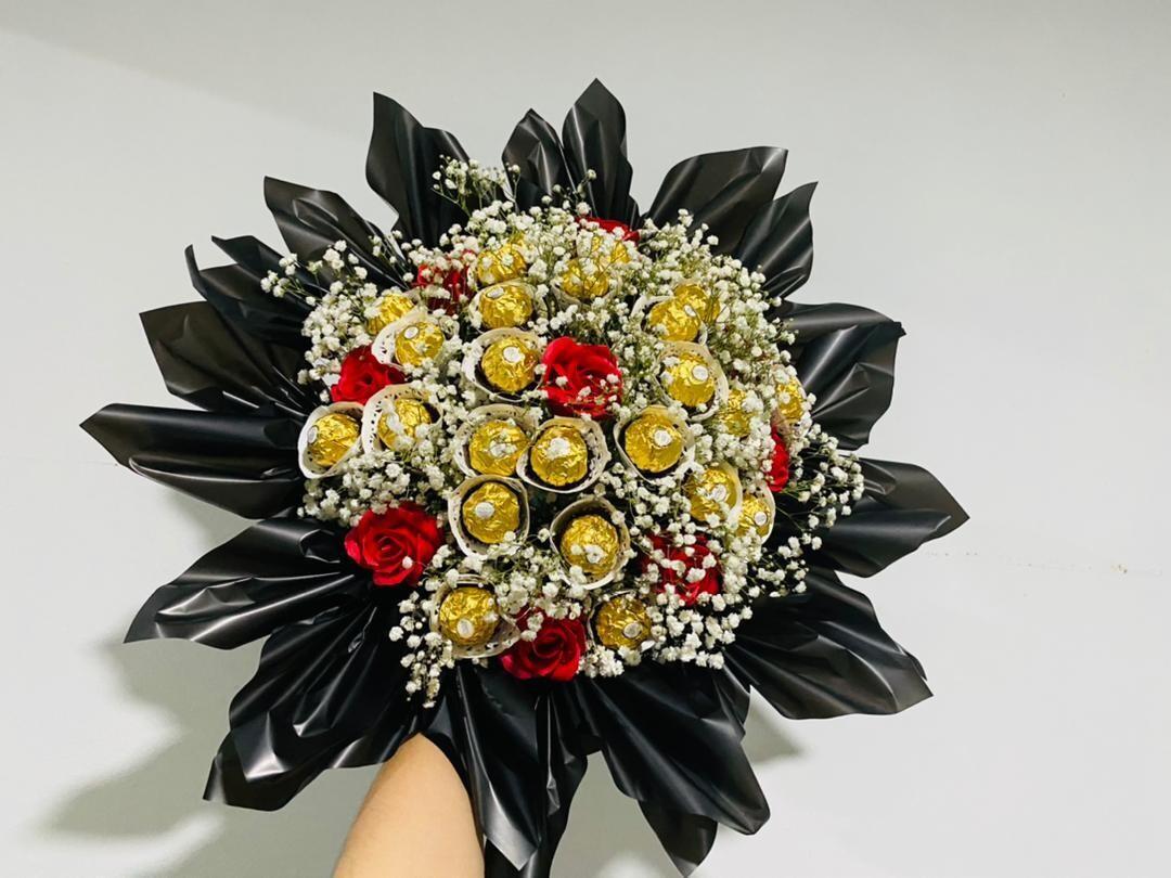 Million Romance Bouquet (By: The Bunga Manies from Bintulu)