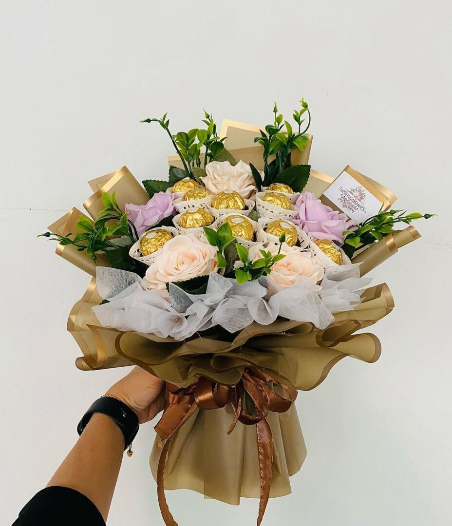 Good Old Time Soap Roses Bouquet (By: The Bunga Manies from Bintulu)