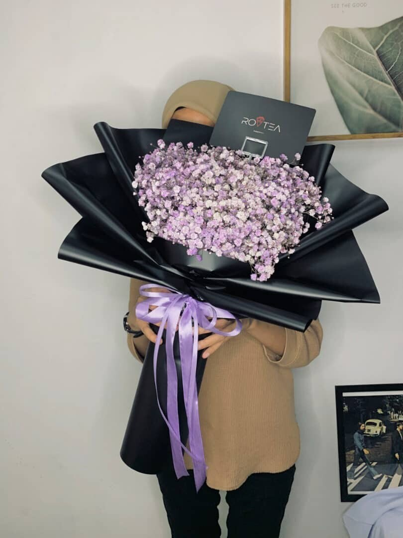 Baby Breath Size L Purple (By: Rovtea Empire from Ampang)