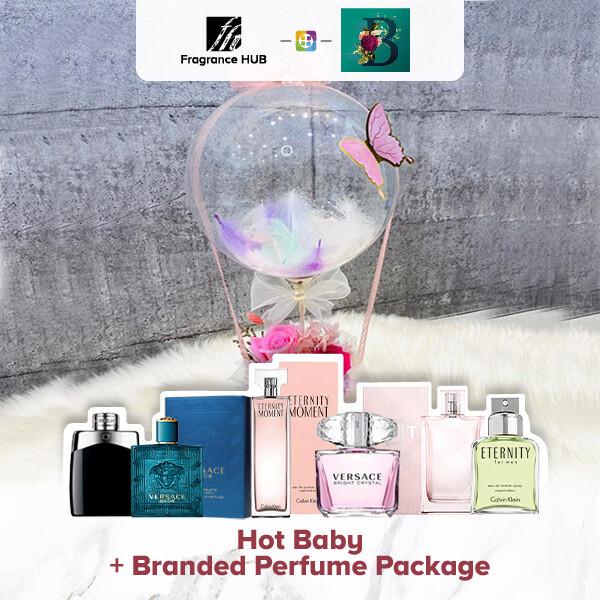 Hot Baby + Fragrance Hub Branded Perfume (By: The Bliss Florist from Melaka)