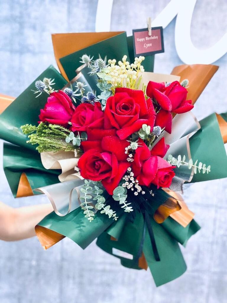 Sophisticated Bouquet (By: The Bliss Florist from Melaka)