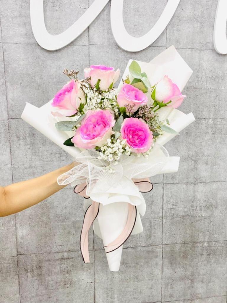 Simplistic Bouquet (By: The Bliss Florist from Melaka)