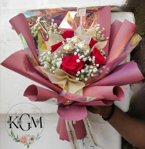 Korean Drama Bouquet (By: Keshwini Florist from KL
