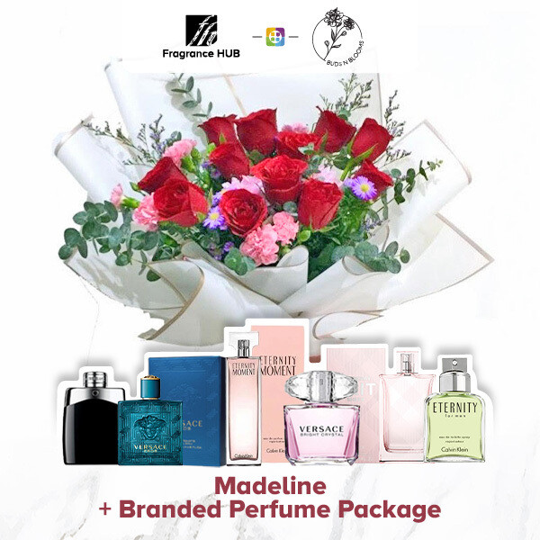 Madeline + Fragrance Hub Branded Perfume (By: Buds N Blooms from KL)