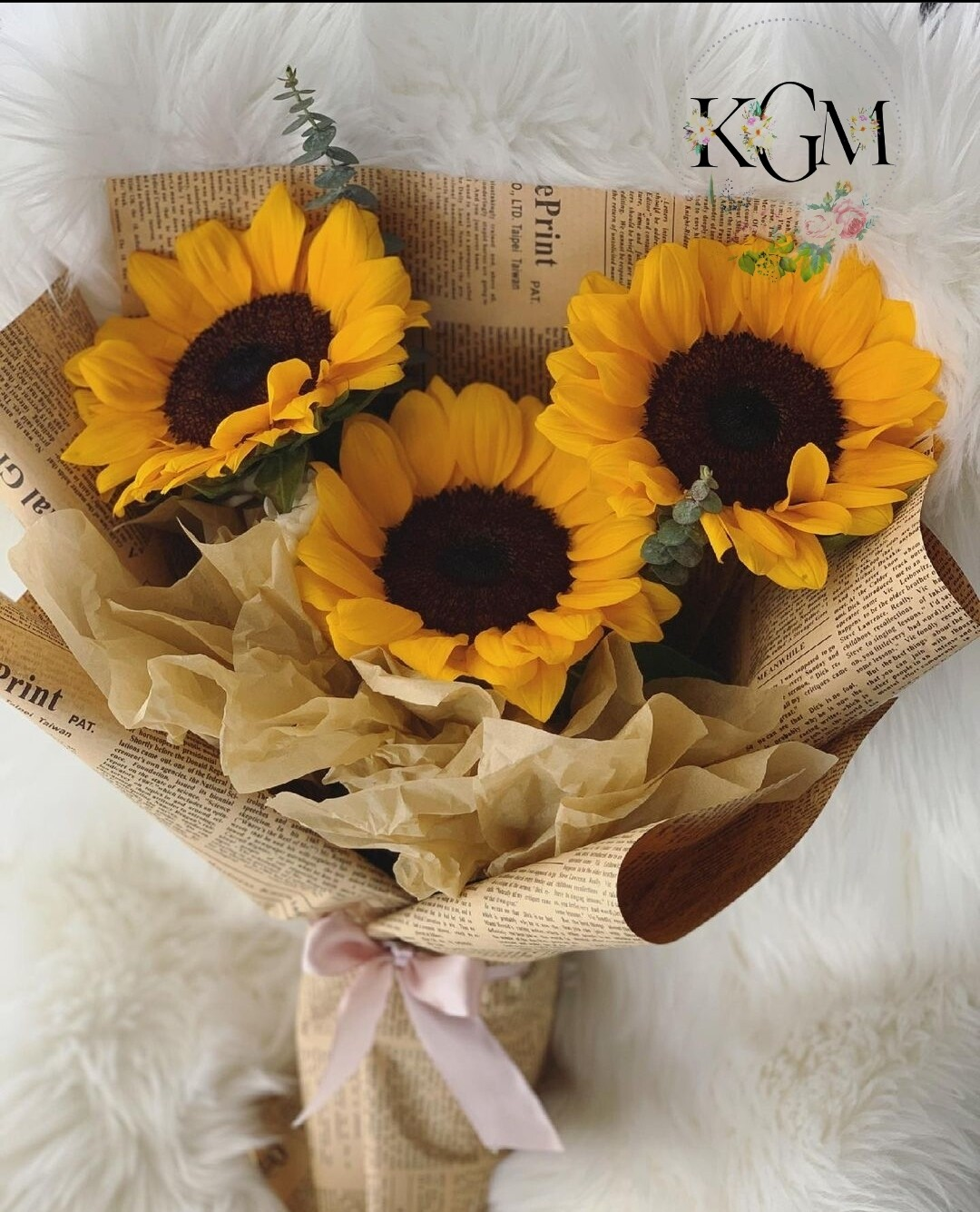 Sunflower Bouquet (By: Keshwini Florist from KL