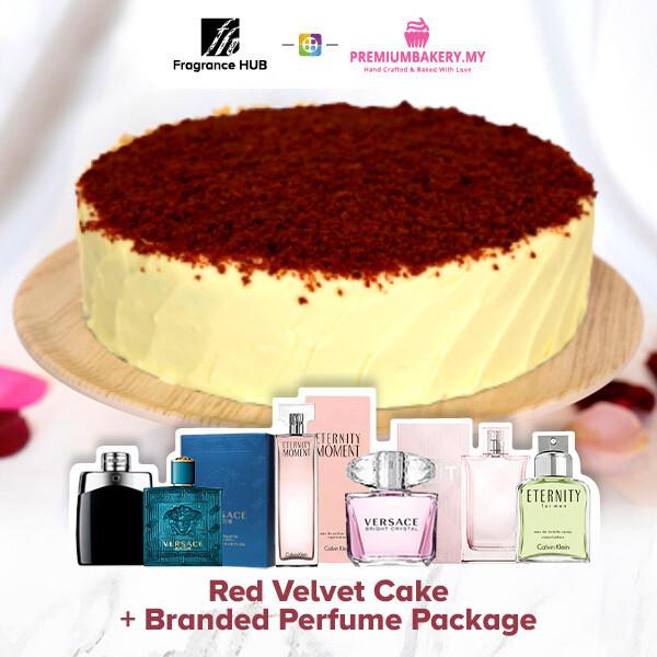 Red Velvet Cake + Fragrance Hub Branded Perfume (By: Premium Bakery from KL)