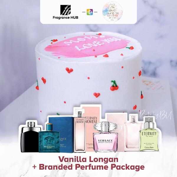 Vanilla longan + Fragrance Hub Branded Perfume (By: Bake by bu from Penang)