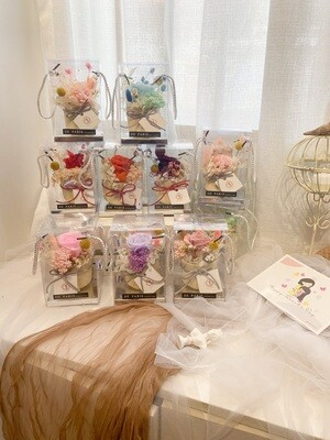 Mini Preserved Flower Pot (By: De Paris from Pulau Pinang)