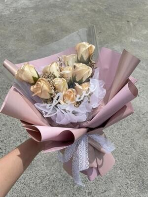 Soap Flowers Bouquet (By: Stylush Studio Floral Design from Kota Kinabalu)