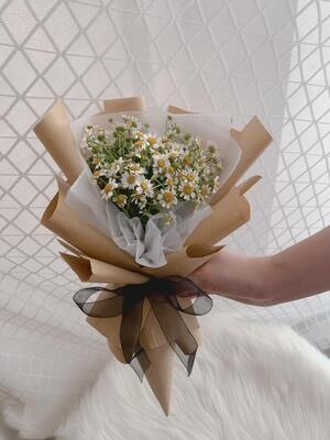 Chamomile Bouquet (By: Stylush Studio Floral Design from Kota Kinabalu)