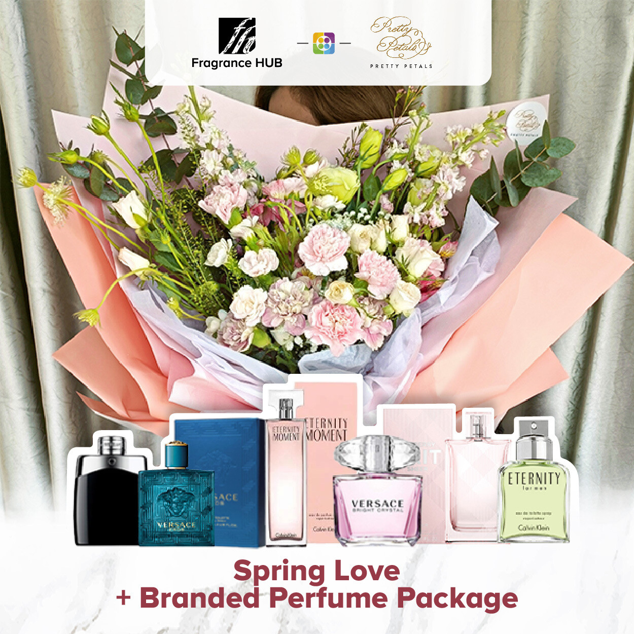 Spring Love + Fragrance Hub Branded Perfume (By: Pretty Petals from Kuching)