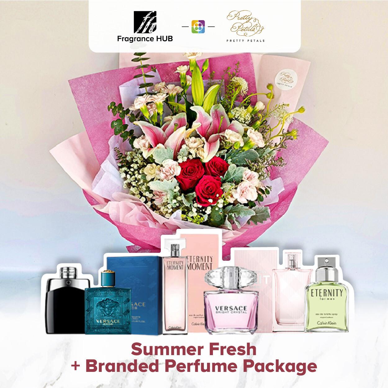 Summer Fresh + Fragrance Hub Branded Perfume (By: Pretty Petals from Kuching)