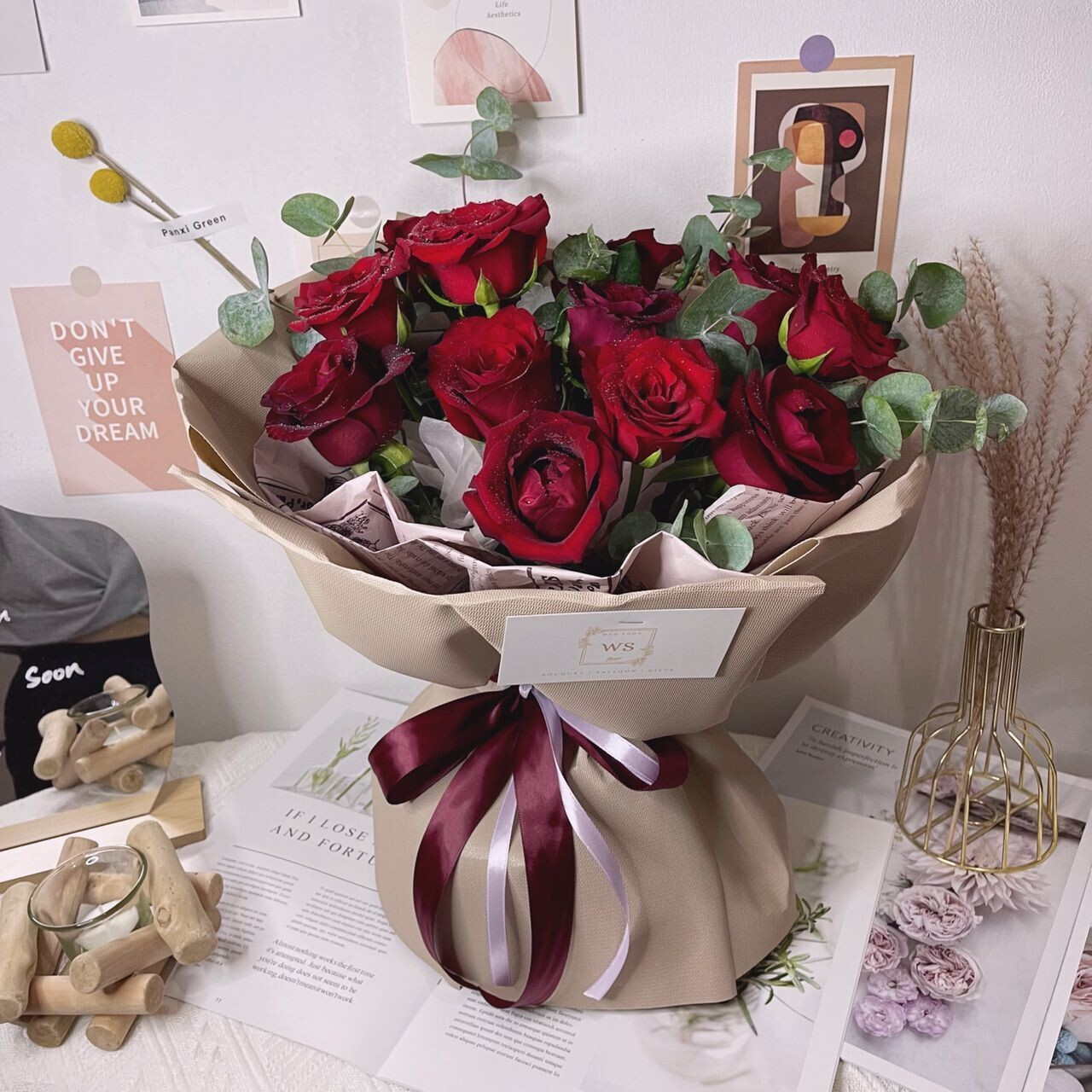 Sweet Red Roses (By: Wan Soon Florist from Miri)