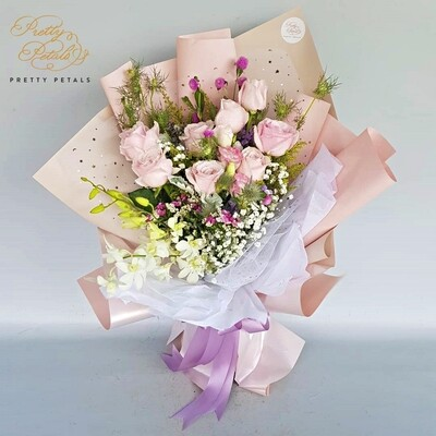 Thinking of Pink (By: Pretty Petals from Kuching)