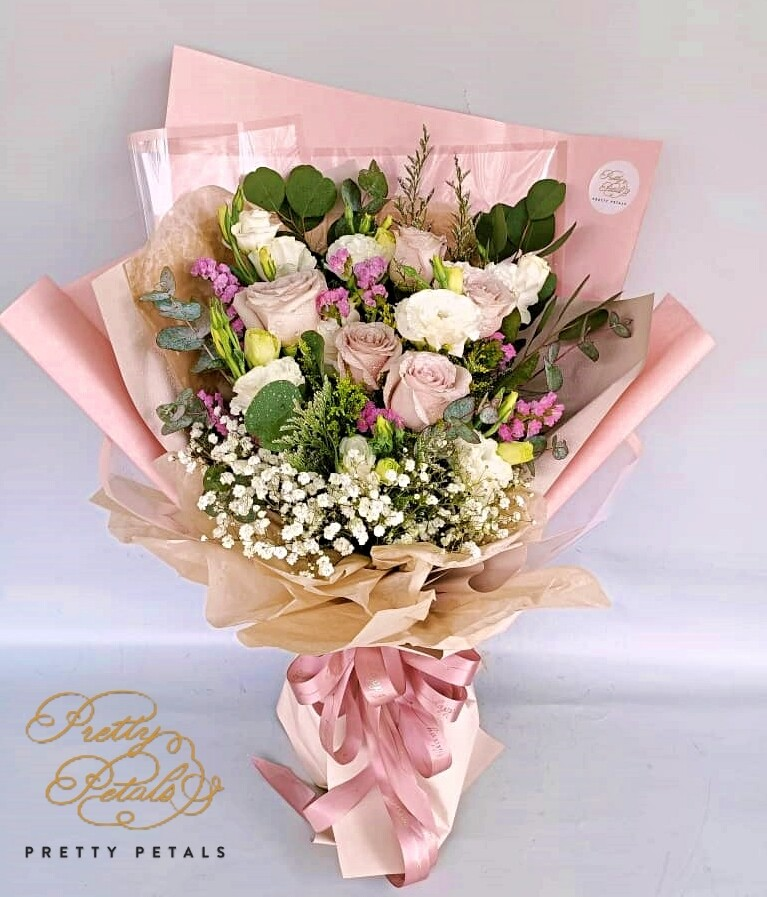 Spring Pink (By: Pretty Petals from Kuching)