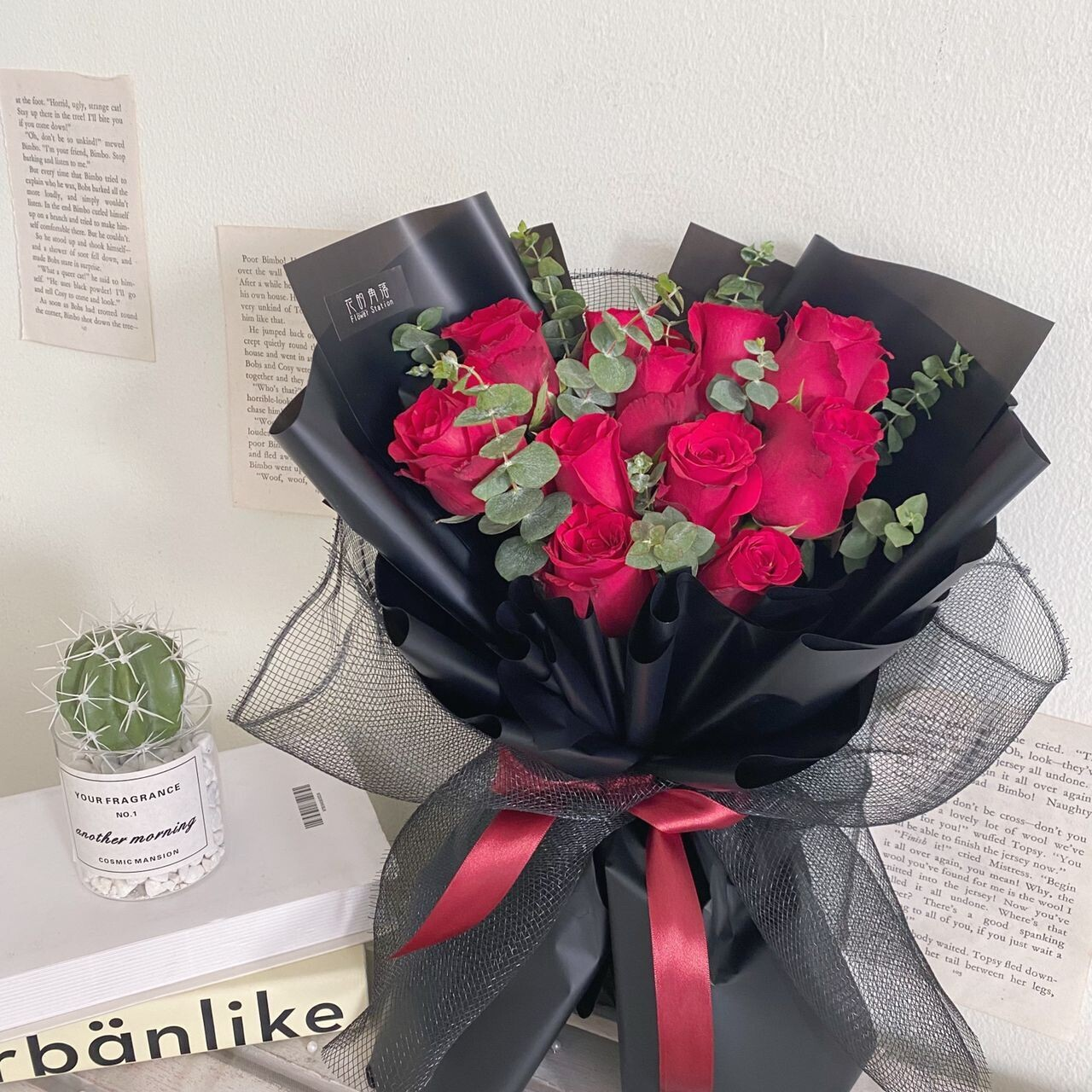 Classic Red Rose Bouquet (By: Rainbow Flower Station from Cheras)