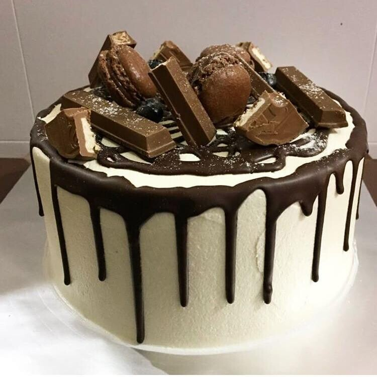 Moist Chocolate Cake (By: YII Blu Cakes & Bakes from Kuala Lumpur)