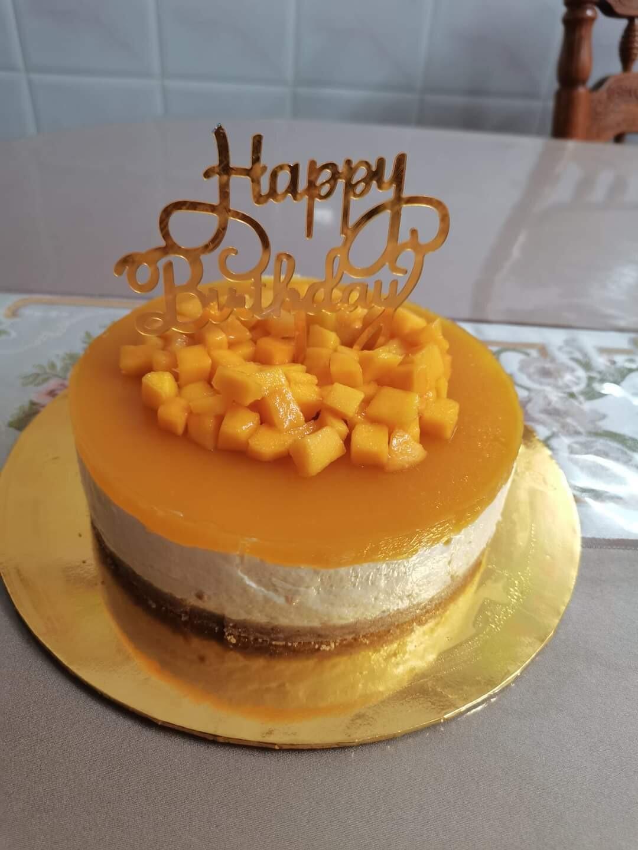 Mango Cheesecake (By: Sweet Haven from Kuala Lumpur)