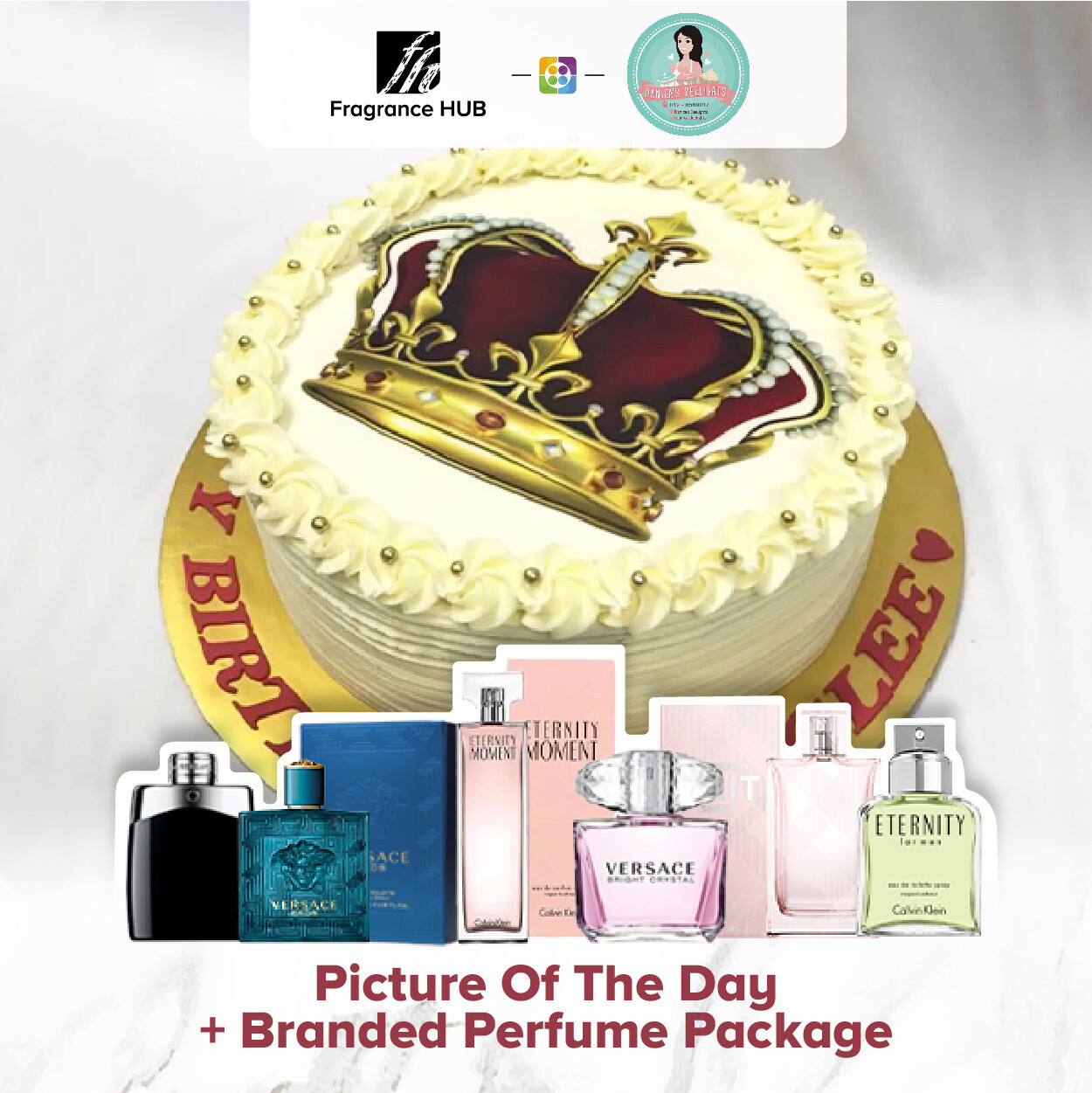 Picture Of The Day + Fragrance Hub Branded Perfume (By: Danica's Delight from KL)