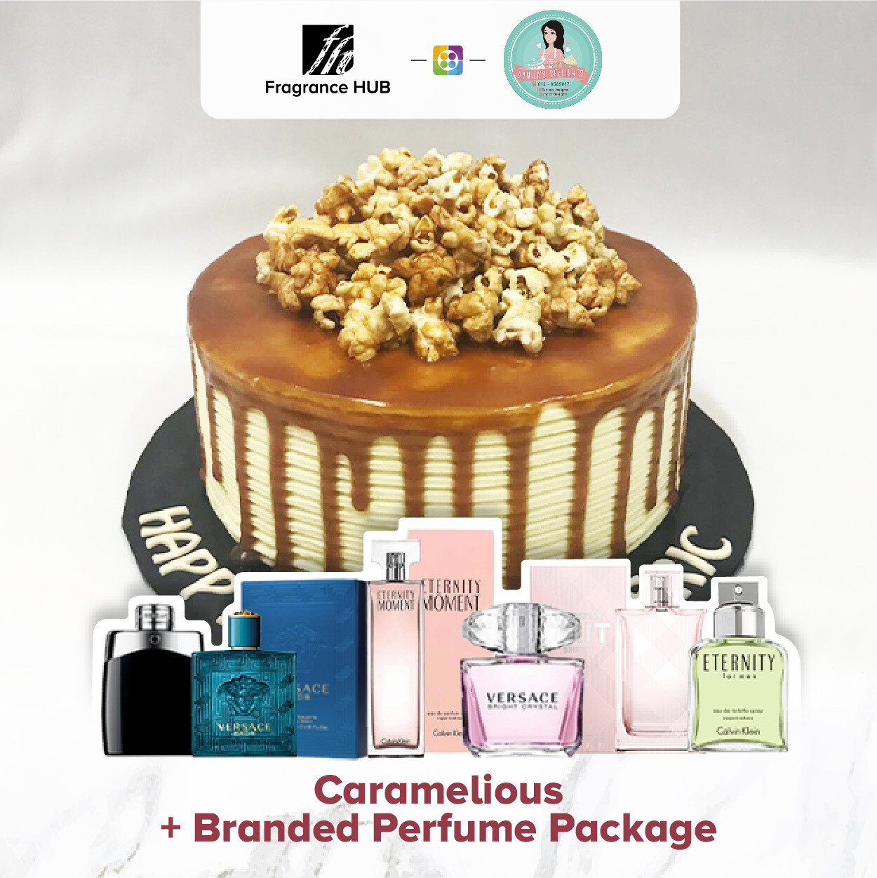 Caramelious + Fragrance Hub Branded Perfume (By: Danica's Delight from KL)