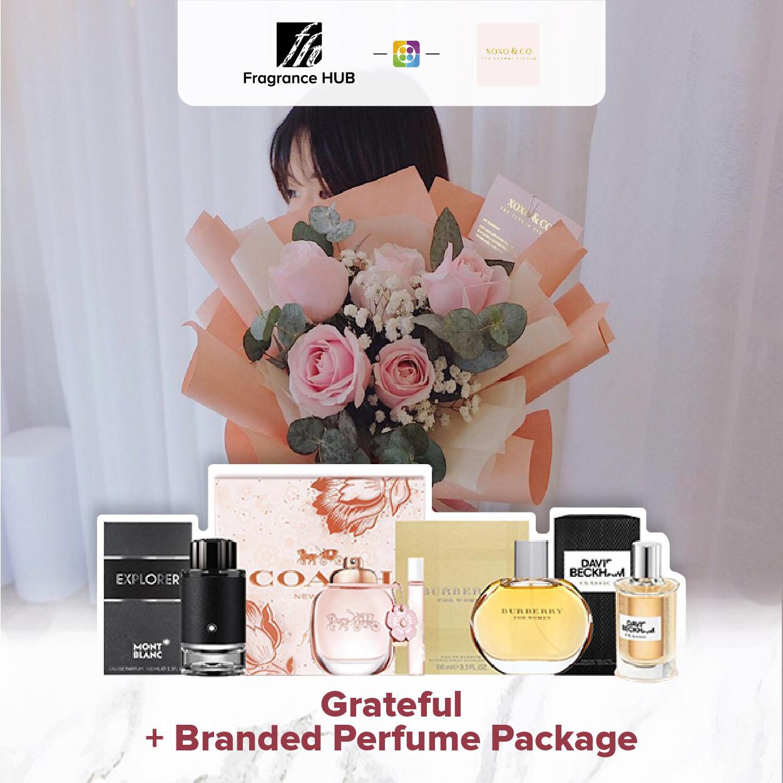 Grateful + Fragrance Hub Branded Perfume (By: XOXO Floral Studio from Miri)