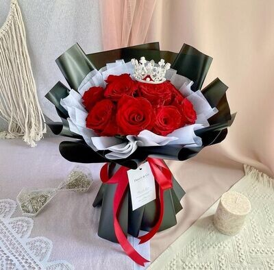 Princessy Roses (By: Fleurir & Co from Kuching)