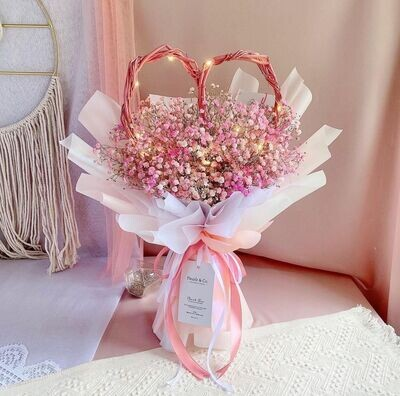 Love Rattan Baby's Breath (By: Fleurir & Co from Kuching)