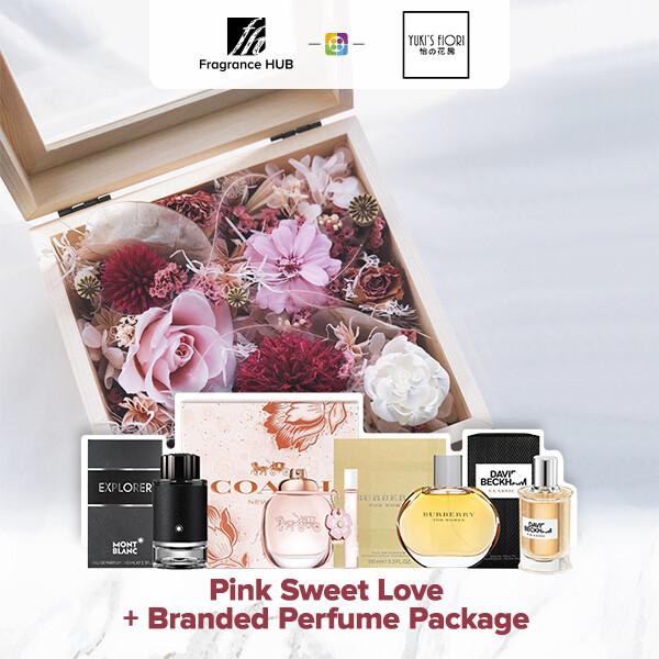 Pink Sweet Love + Fragrance Hub Branded Perfume (By: Yuki Flori from Bukit Jalil)