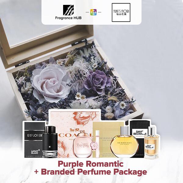 Purple Romantic + Fragrance Hub Branded Perfume (By: Yuki Flori from Bukit Jalil)