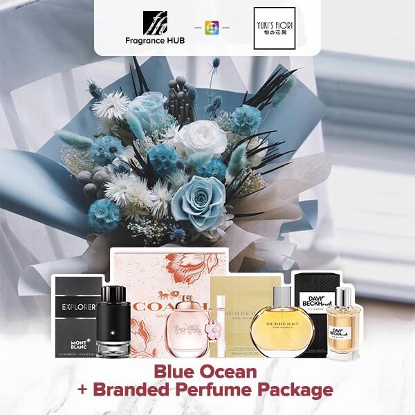 Blue Ocean + Fragrance Hub Branded Perfume (By: Yuki Flori from Bukit Jalil)
