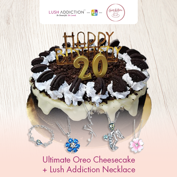 Ultimate Oreo Cheesecake + Lush Addiction Necklace (By: Sweet Haven from KL)