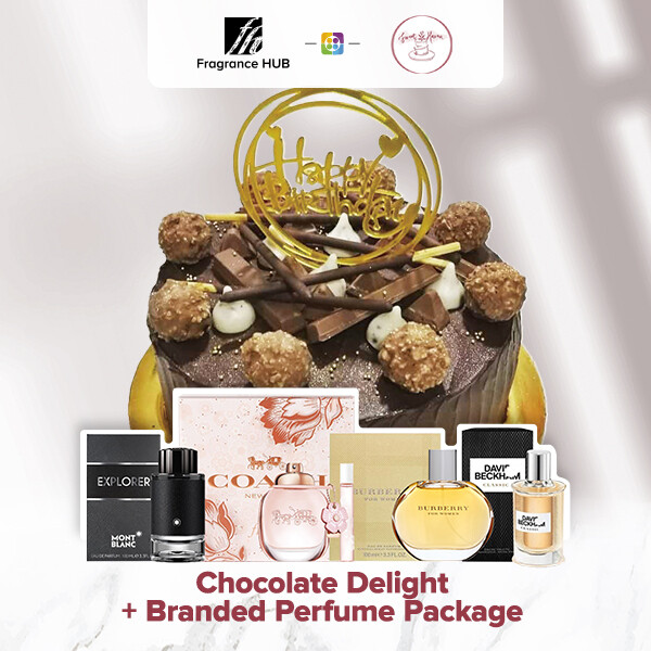 Chocolate Delight + Fragrance Hub Branded Perfume (By: Sweet Haven from KL)