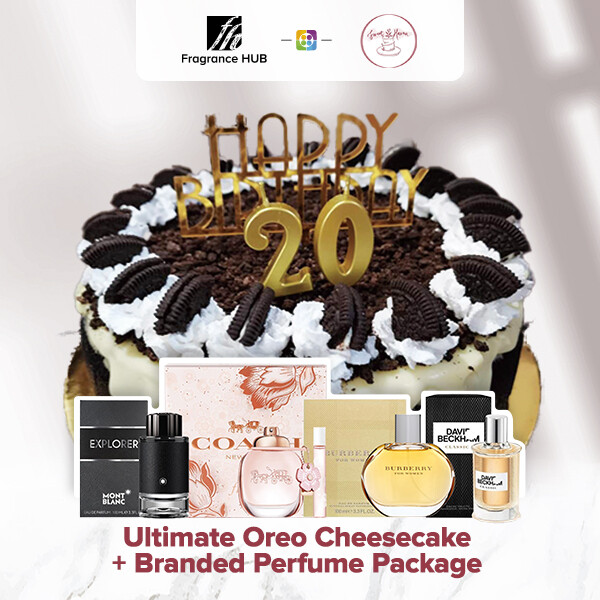 Ultimate Oreo Cheesecake + Fragrance Hub Branded Perfume (By: Sweet Haven from KL)