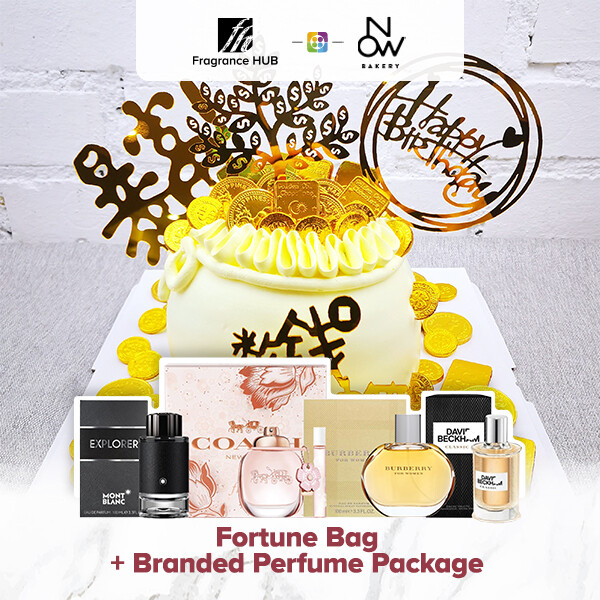 Fortune Bag + Fragrance Hub Branded Perfume (By: NOW Bakery from JB)