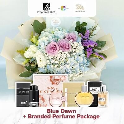 Blue Dawn + Fragrance Hub Branded Perfume (By: Pretty Petals from Kuching)