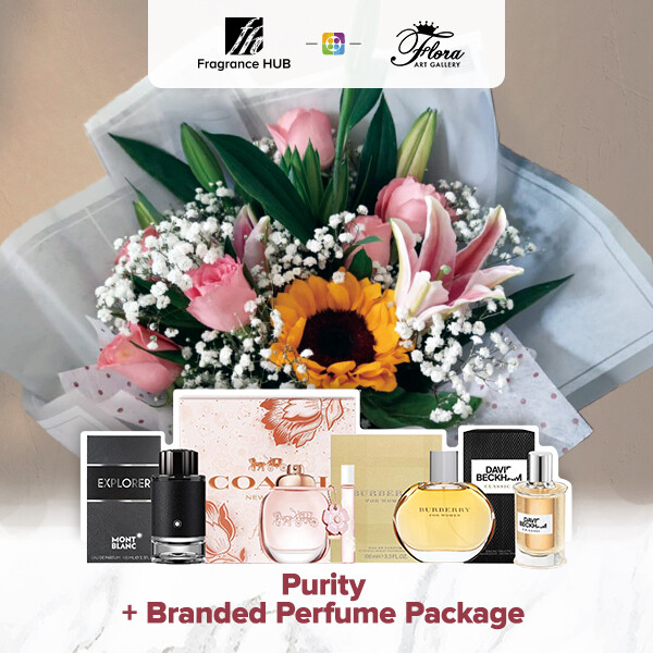 Purity + Fragrance Hub Branded Perfume (By: Floral Art Gallery from Puchong)
