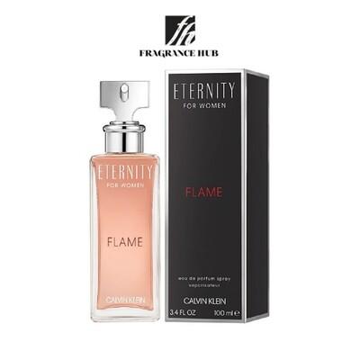 Calvin Klein cK Eternity FLAME EDT Women 100ml (By: Fragrance HUB)