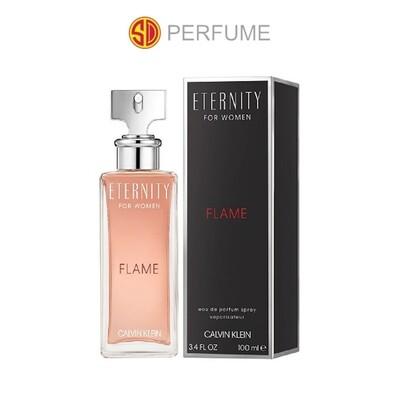 Calvin Klein cK Eternity FLAME EDP Women 100ml  (By: SD PERFUME)