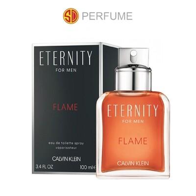 Calvin Klein cK Eternity FLAME EDT Men 100ml  (By: SD PERFUME)