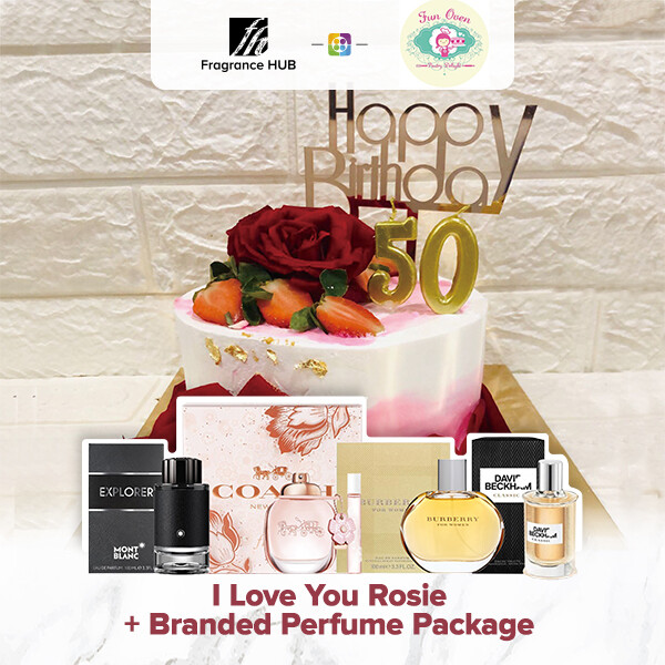 I Love You Rosie + Fragrance Hub Branded Perfume (By: Fun Oven Pastry Delight from Penang)