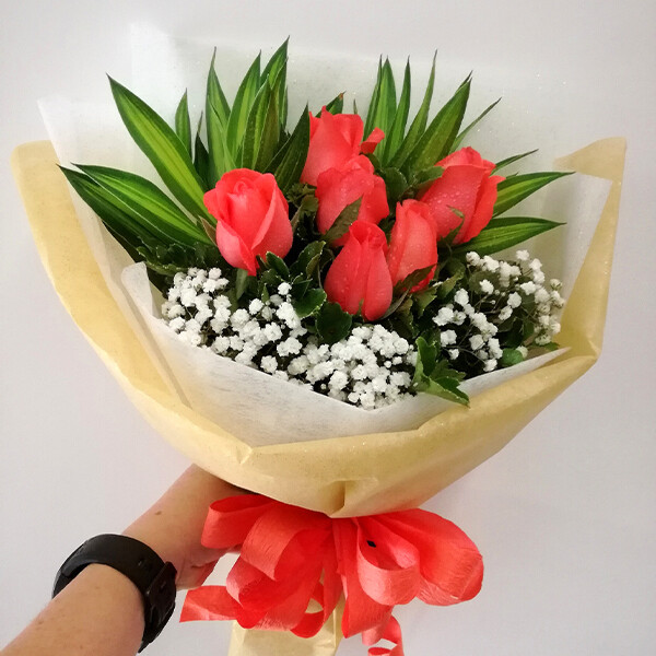 6 Roses Bouquet (By: Eki Floral from Bangsar)