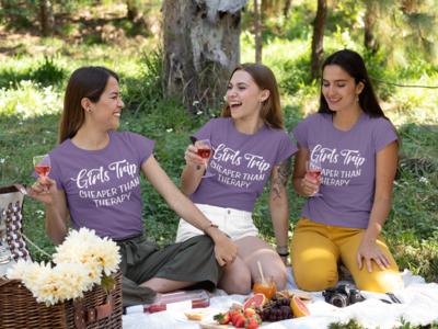 Girl's Trip - Cheaper Than Therapy T-Shirt