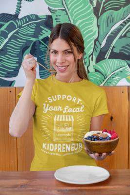Support Your Local Kidpreneur T-Shirt