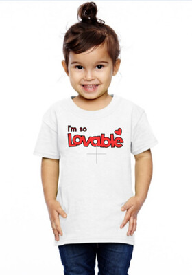 Lovable Toddler Shirt