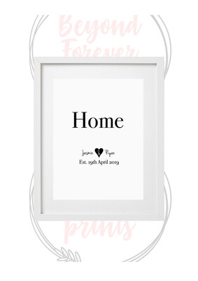 Home Personalised