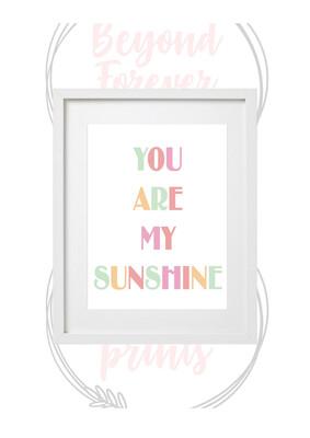 Kids - You Are My Sunshine
