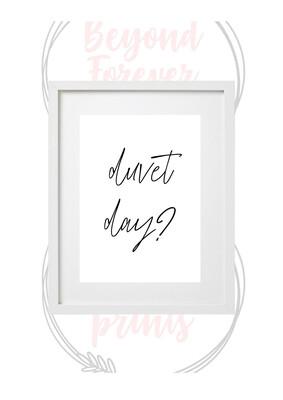 Duvet Day?
