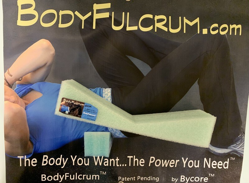 1-inch BodyFulcrum® Comfort Green Firm Premium Core and Back Stretch Height, Free Shipping Ground